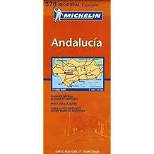 Carte RGIONAL Andalucia