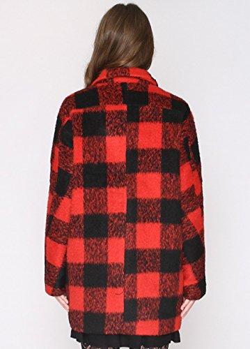 Pepa Loves Damen Mantel Roser Rot - Rot