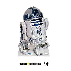Star Cutouts Ltd SC4001 Droid R2-D2 Classic New Hope for Star Wars Fans, Höhe 91 cm, mehrfarbig