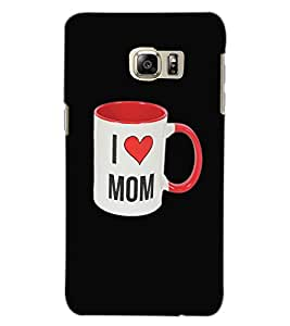 SAMSUNG GALAXY NOTE 5 EDGE I LOVE MOM Back Cover by PRINTSWAG