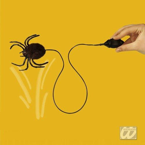 Spinnen Hüpf mit Pumpe