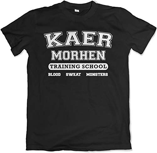 Kaer Morhen Training School Black T Shirt