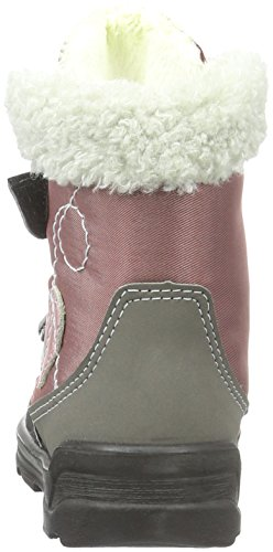 Ricosta Finja, Bottes courtes avec doublure chaude fille Rose - Pink (Candy/meteor 324)