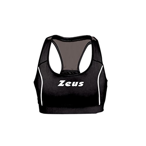 Zeus Damen Volleyball Top Professional Indoor Handball Fitness Training Ausbildung TOP VOLLEY PRO (M, SCHWARZ-GRAU)