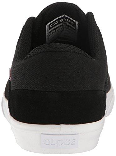 Globe Chase Herren Leder Skateschuh Black/White