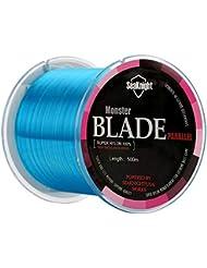 Ciglow Angelschnur 500 m PE-Geflochtene 4-Str/änge-Superstarke Angelschn/üre Multi-Filament-Fischseil Gr/üne Farbe Verringert die Sichtbarkeit der Schnur