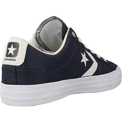 Uomo scarpa sportiva, colore Blu , marca CONVERSE, modello Uomo Scarpa Sportiva CONVERSE CHUCK TAYLOR STAR PLAYER OX Blu Athletic Navy White