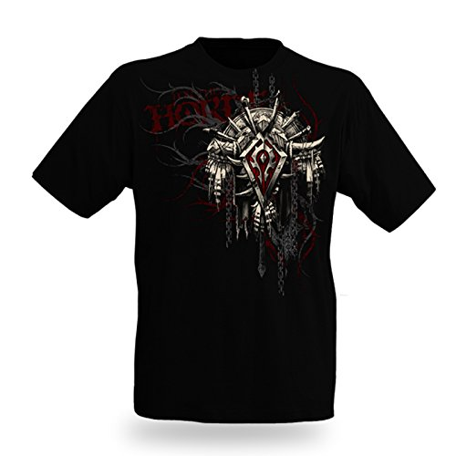 World of Warcraft - Stemma dell'orda - World of Warcraft - Orda - Crest 2 - T shirt- nero - S