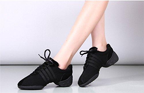 E Support™ Damen Funky Sneaker Dance Fitness Aerobic Gymnastik Sneaker Tanzsneaker Modernen Jazz Tanzschuh Dancesneaker Sportschuhe Schuh - 2