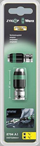 Wera 05003529001 8784 A1 Zyklop-Verbindungsteil, 37.0 mm x 1/4 Zoll