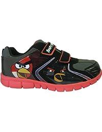 Baskets noires Angry Birds pour garçons