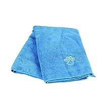 Serviette, 50 × 60 cm, bleu - pour chiens et chats; également adaptée aux chevaux