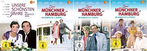 3 DVDs + Zwei Münchner in Hamburg - Staffel 1-3 (12 DVDs)