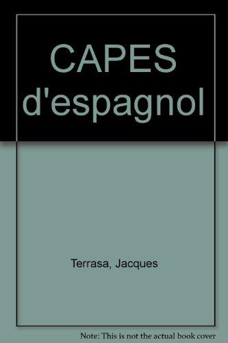 CAPES d'espagnol