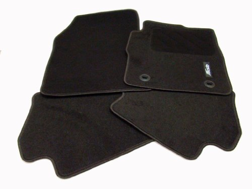Genuine Ford Fiesta MK7 Front and Rear Standard RHD Carpet Mat Set