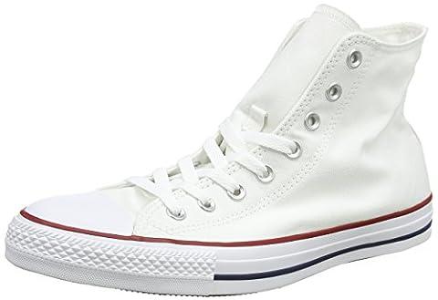 Converse Ctas Core Hi, Baskets mode mixte adulte - Blanc