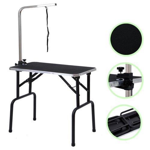 btm-table-de-toilettage-en-acier-inoxydable-a-revetement-en-poudre-ajustable-et-portable-noeud-couli