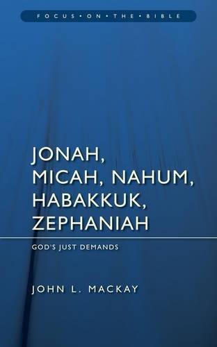 Jonah, Micah, Nahum, Habakkuk & Zephaniah Cover Image