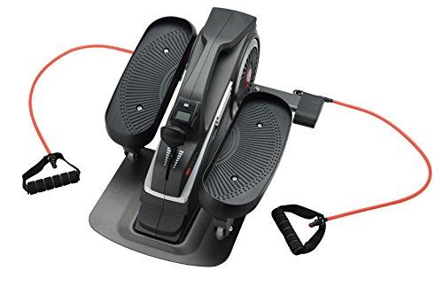 AsVIVA H20 Mini Bike Heimtrainer Cardio mit 3kg Schwungmasse, 8 manuell verstellbaren Widerstandsstufen sowie kugelgelagerten Hartgummi Rollen, inkl. Multifunktionscomputer - 4