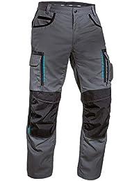 Uvex Tune-Up Lange Arbeitshose für Herren - Cargo-Bundhose mit Knietaschen