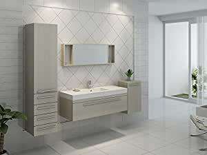 Interougehome ensemble de meuble de salle de bain en - Amazon meuble salle de bain ...