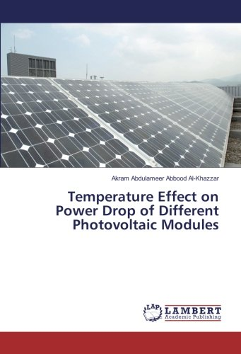 Temperature Effect on Power Drop of Different Photovoltaic Modules (Drop-modul)