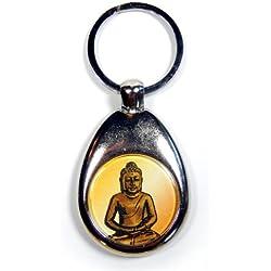 """Llavero """"Buda"""" con carro de la compra-chip"""