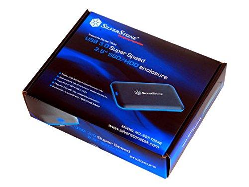sempre SST-TS04B-250SSD Treasure SilverStone SSD externe Festplatte 250GB