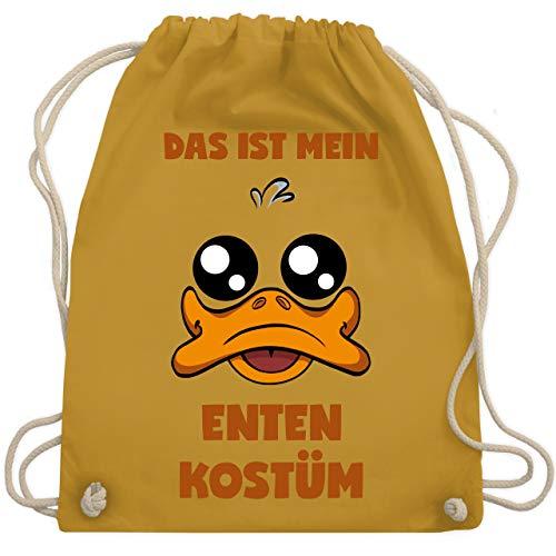 Karneval & Fasching - Das ist mein Enten Kostüm - Unisize - Senfgelb - WM110 - Turnbeutel & Gym ()