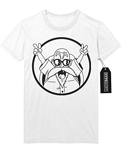 T-Shirt Dragon Ball Muten-Roshi C112251 Weiß