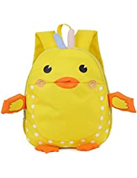 Preisvergleich für GWELL Ente Babyrucksack Kindergartenrucksack Kleinkind Kinder Rucksack Mädchen Jungen Backpack Schultasche
