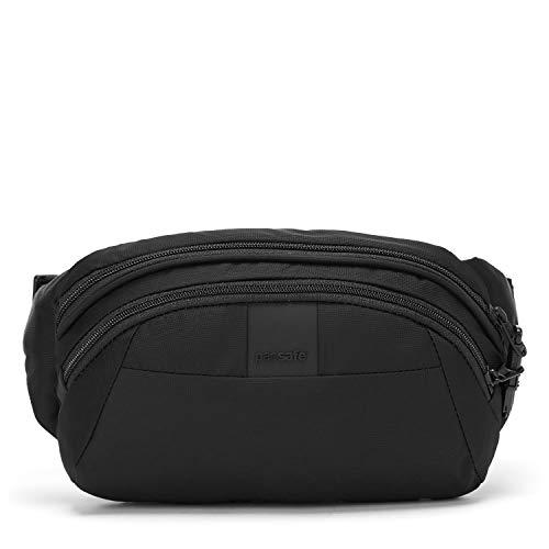 Pacsafe Metrosafe LS120 Anti-Diebstahl Nylon Hipbag, Hüfttasche für Damen und Herren, Tasche mit Diebstahlschutz, Umhängetasche mit Sich...