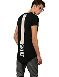SKULT By Shahid Kapoor Men's Cotton Relaxed Fit T-Shirt