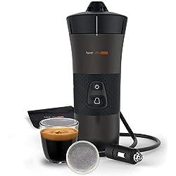 Handpresso - Handcoffee Auto 48264 Machine café portable à dosette pour voiture 12V