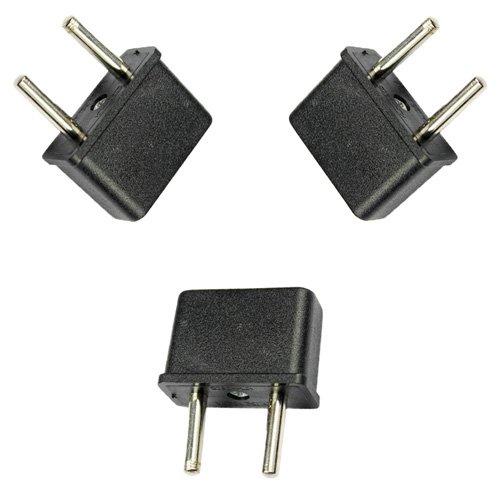 TOOGOO(R) Ckitze EU-3 Stueck Amerikanischen / Australischen Europaeischen Outlet-Stecker-Adapter - 3 Stueck Set