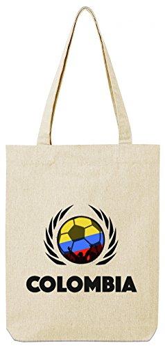 Borsa Da Basket In Cotone Organico Colombia World Wm Borsa Da Viaggio In Jersey Stanley Stella Football Colombia Natural