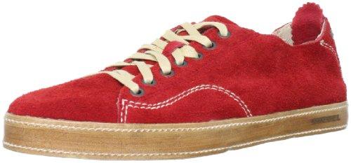 DIESEL baskets cuir homme UNDER PRESSURE rouge T.40