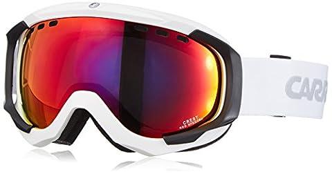 Carrera Herren Skibrille Crest Sph, Weiß/Matt/Red/Spectra, M003717DV99TV