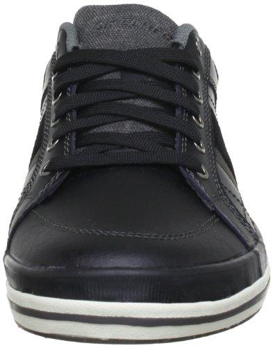 Skechers DiamondbackGoden 63619 Herren Sneaker Schwarz (Blk)