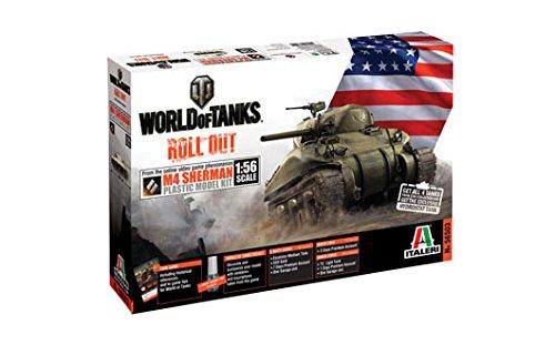 Italeri World of Tanks M4 Sherman