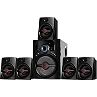 IKALL IK-444 Portable Home Audio Speaker with USB Port and Aux Cable