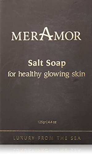 meramor Salt Soap for Healthy Glowing Skin 125 g