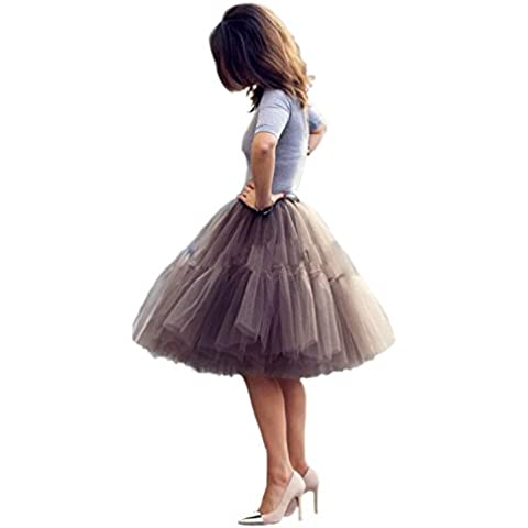 Babyonlinedress - Falda - trapecio - para mujer