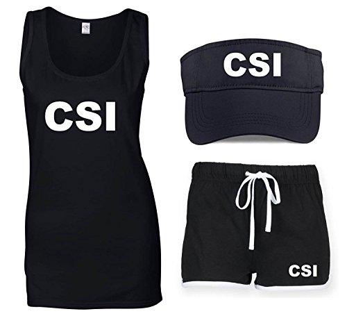 Csi Kostüme (CSI Damen-Kostüm)