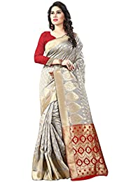 Fancy New Arrivals Cotton Silk Zari Jacquard Work Designer Saree With Blouse Piece(Pink)