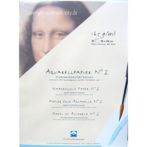 Schoellershammer Aquarellblock 36 x 48 cm DaCapo N°2