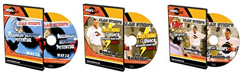 Alan Stein Instructional Basketball Training DVDs, Jump Higher, Defense, Quickness, & Agility -