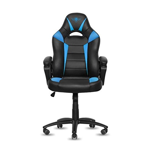 Spirit of Gamer Fighter Silla Gamer, Poliuretano, Azul, 67 x 70 x 129