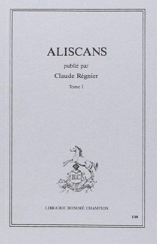 Aliscans Tome I