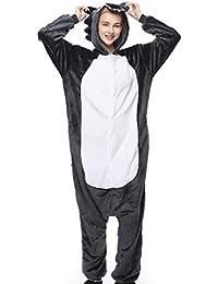 SHANGXIAN Unisexo Adulto Pijama Cosplay Disfraz Halloween Animal Onesie Ropa De Dormir,M